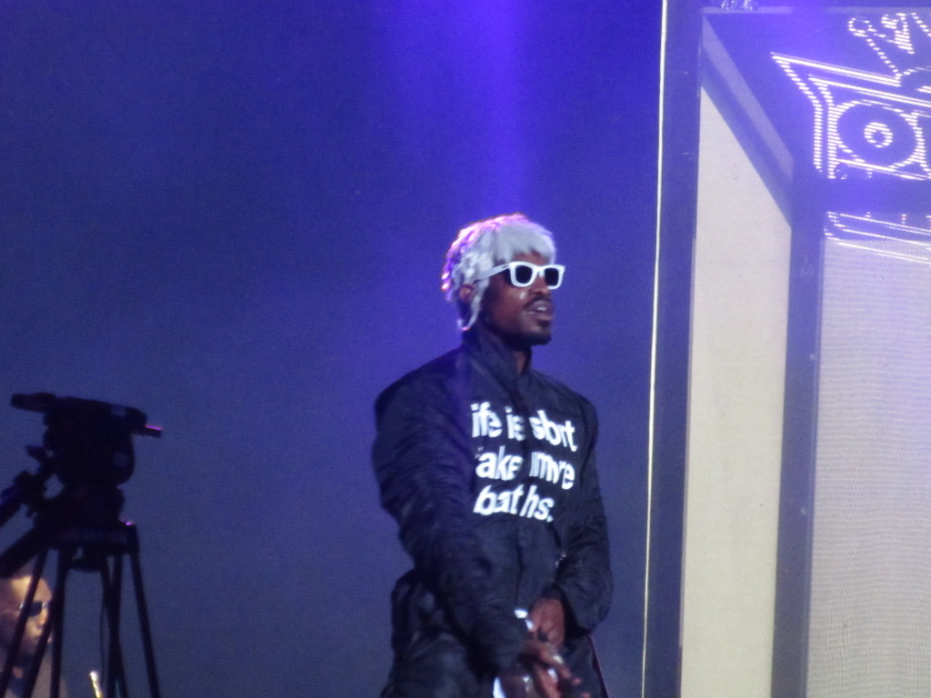 Outkast at Osheaga Festival, Montreal. Photo By Robyn Homeniuk.