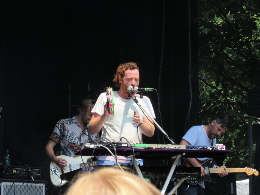 Royal Canoe at Osheaga Festival, Montreal. Photo By Robyn Homeniuk.