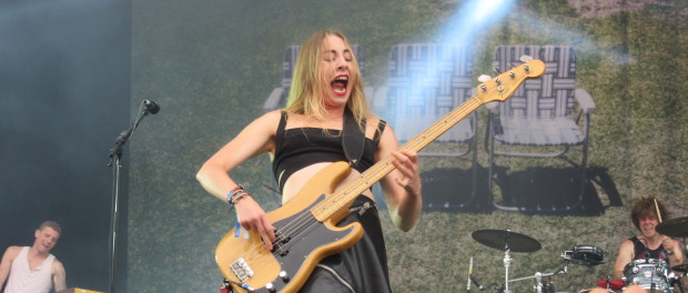 Haim at Osheaga Festival, Montreal. Photo By Robyn Homeniuk.