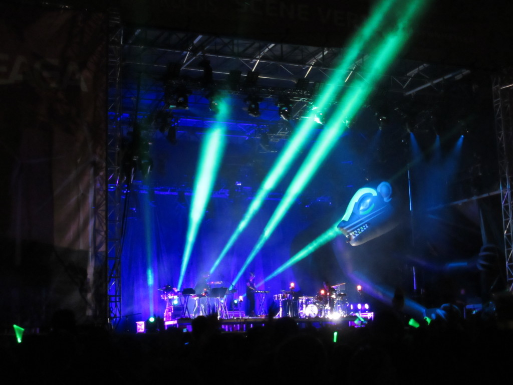 SBTRKT at Osheaga Festival, Montreal. Photo By Robyn Homeniuk.