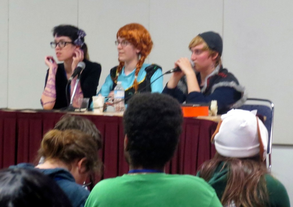 Fronzen Panalists. Otakuthon. Photo Rachel Levine