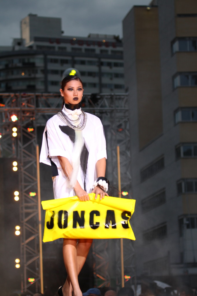 Joncas. Montreal Fashion Design Festival. Photo Magali Crevier.