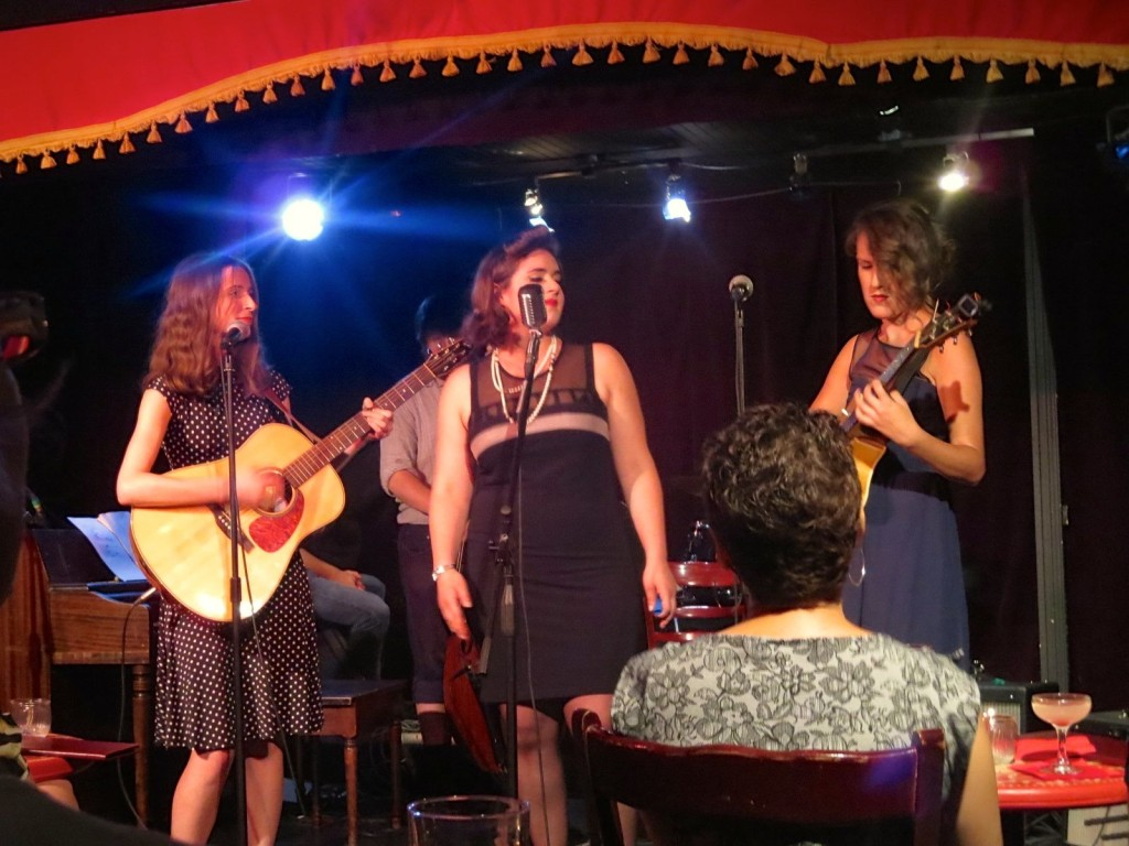 Shy Shy Schullie and the Blue Ballad Sisters. Photo Rachel Levine