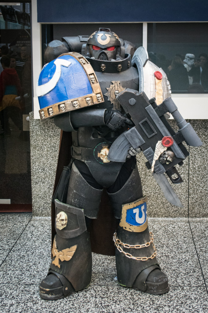Warhammer 40K.. Montreal Comiccon. Photo Jean Frederic Vachon.