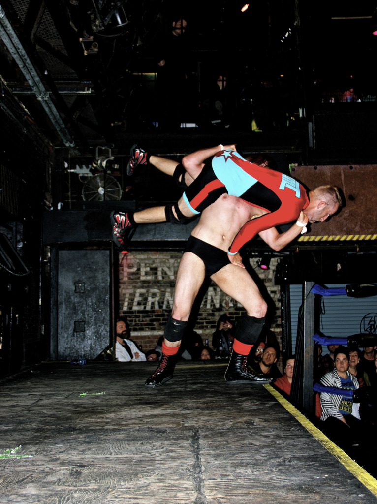 Wrestling. Foufones Electriques. September 14. Photo Michael Bakouch.