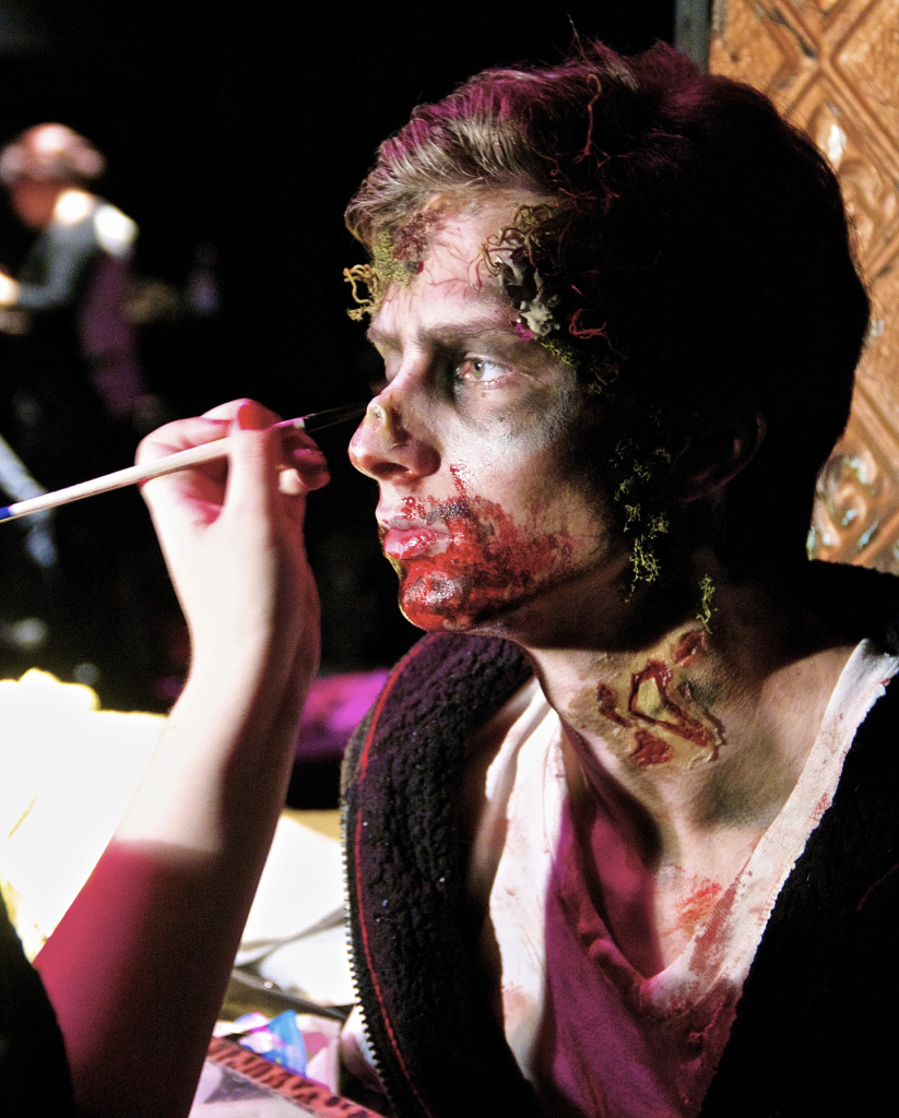 Mascara & Popcorn Body Horror Contest SPFX 2014. Photo by Michael Bakouch