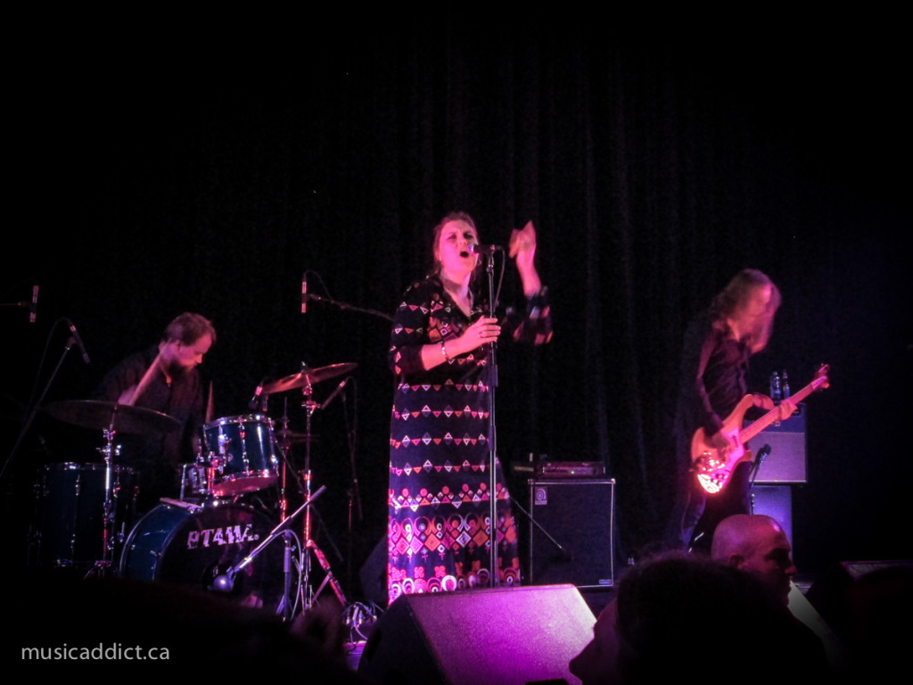 Jess and the Ancient Ones October 17 2014. Photo by Jean-Frederic Vachon