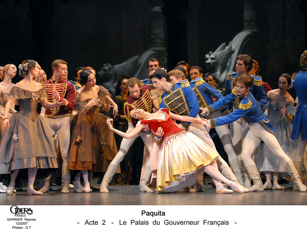 Paquita. Opera de Paris. Photo Christophe Pelé