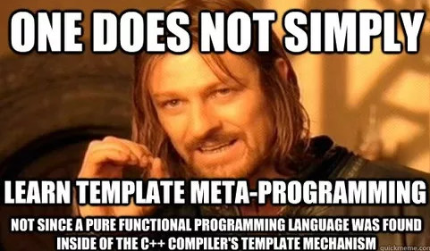 one does not simply learn meta programming
