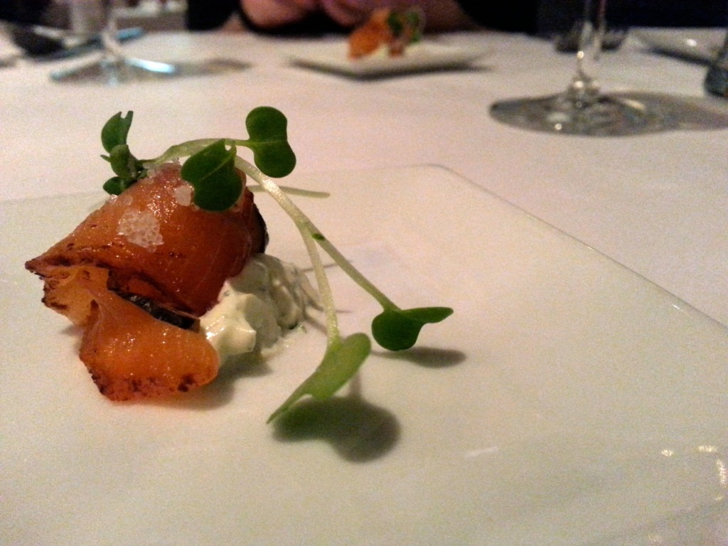 House Made Salmon Gravlax. Photo by Annie Shreeve