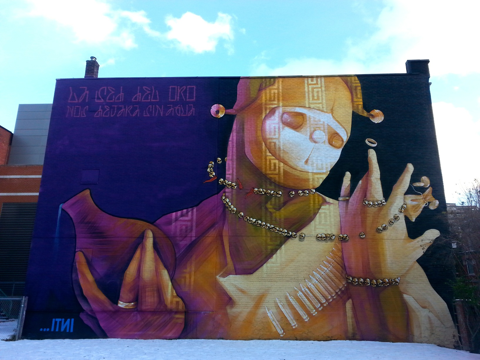 Itni. MURAL Festival, 2014. Photo by Annie Shreeve