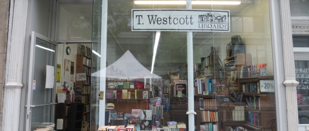 T Westoctt Books. Photo Rachel Levine