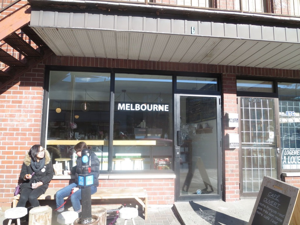 Melbourne Cafe. St Laurent. Photo Rachel Levine