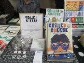 Grilled Cheese Kid's Journal. Expozine. Photo Rachel Levine