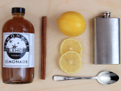 Recipe wood. Lemo Lemonade