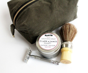 clark and james shave kit