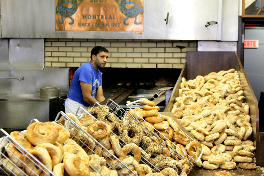 St Viateur Bagels. Photo by Annie Shreeve