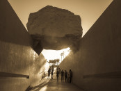 Levitated Mass by Michael Heizer. Photo by m-bot/Flickr.