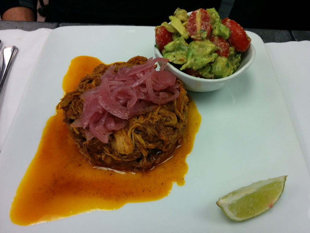 Cochinita Pibil. Epazote and Haricots. Photo Esther Szeben