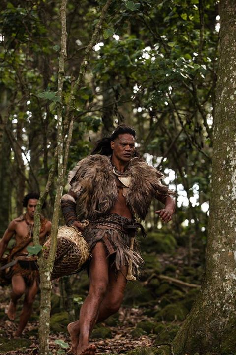 "James Rolleston as Hongi in ""The Dead Lands""."