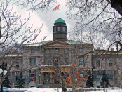 McGill's iconic Arts Building, built in 1843. Photo credit: Paul Lowry/Flickr.