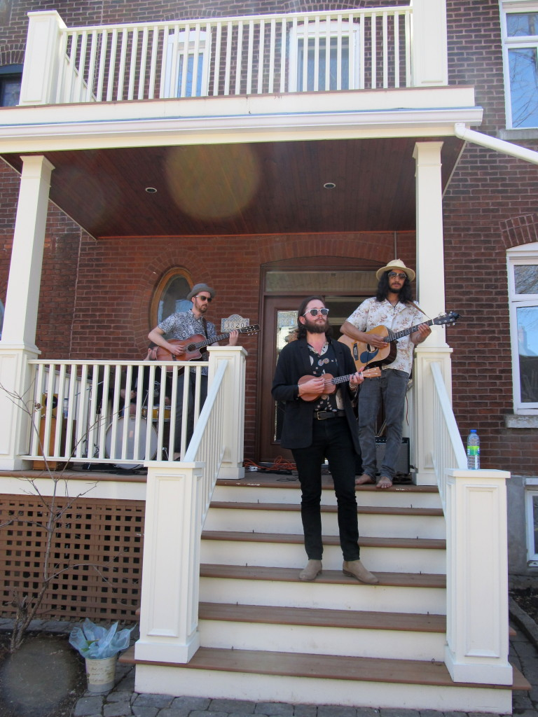Po Lazarus. NDG Porch Fest. Photo Evelyn Richardson-Haughey