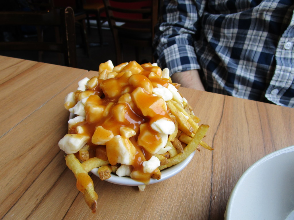 burger royal. Poutine. Photo Rachel Levine
