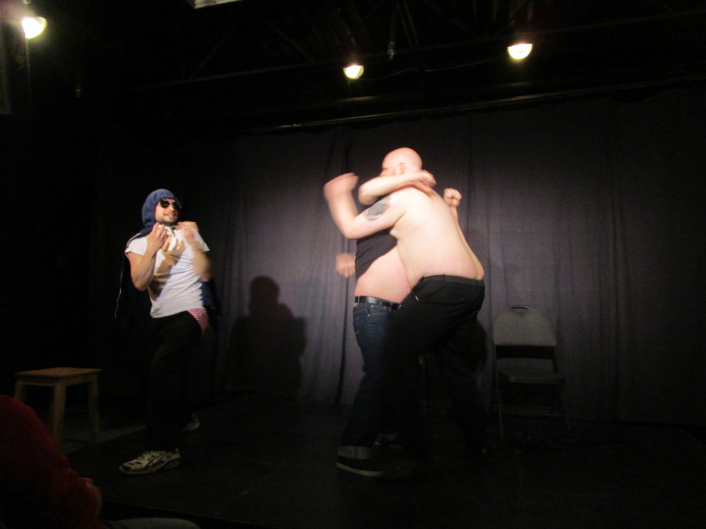 We Just Make This Stuff Up. Montreal Sketchfest. Photo Rachel Levine