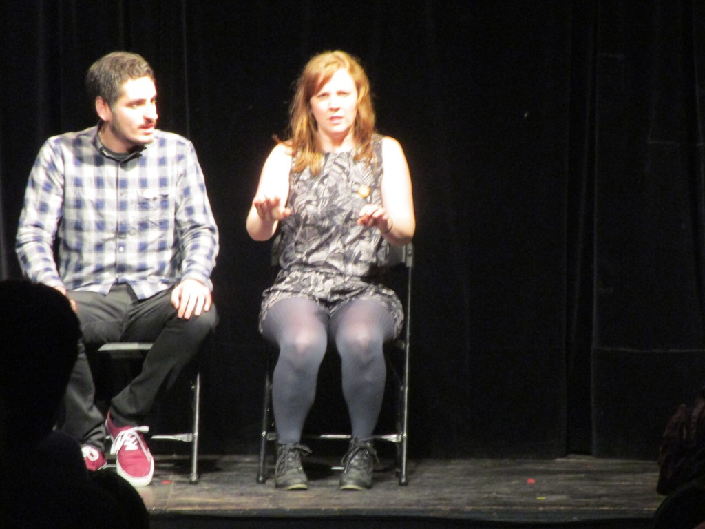 2 Humans. Sketchfest 2015. Photo Rachel Levine