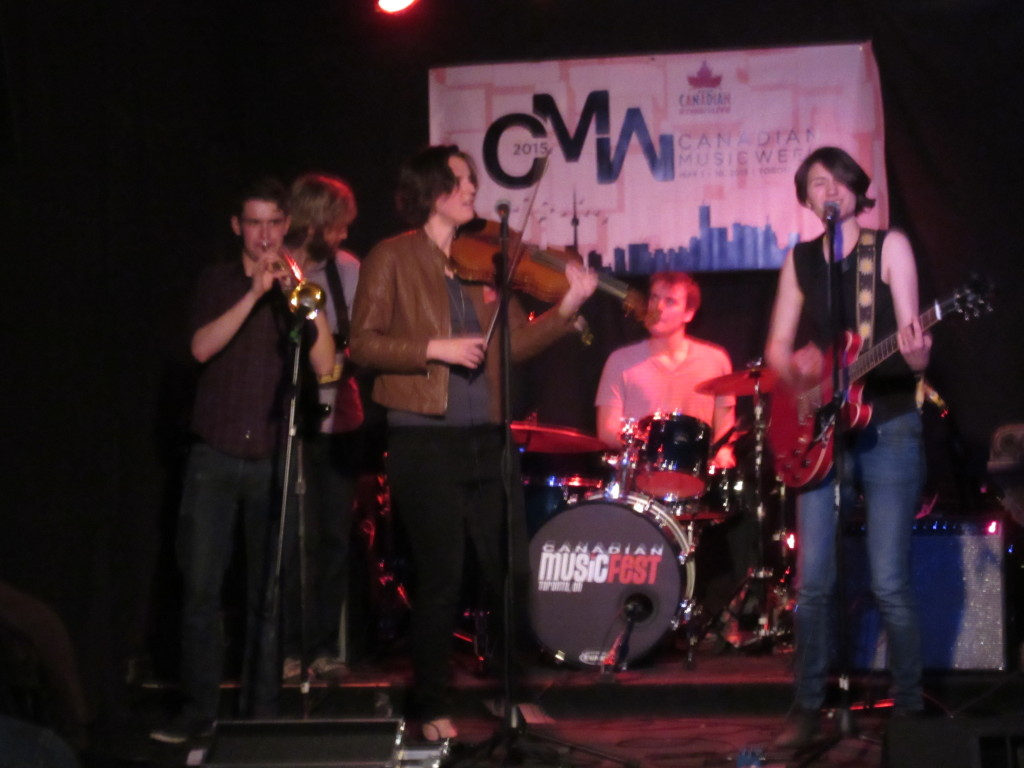 Reenie at Canadian Music Week 2015. Photo by Robyn Homeniuk.