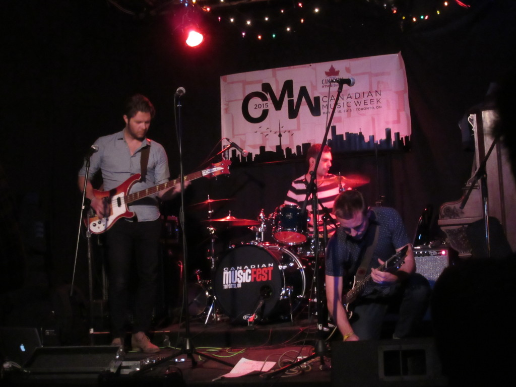 Cyprian at Canadian Music Week 2015. Photo by Robyn Homeniuk.
