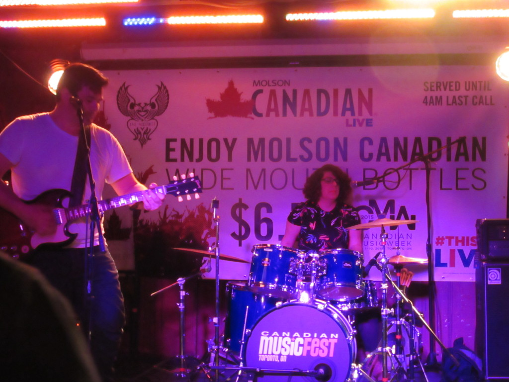 The GTs at Canadian Music Week 2015. Photo by Robyn Homeniuk.