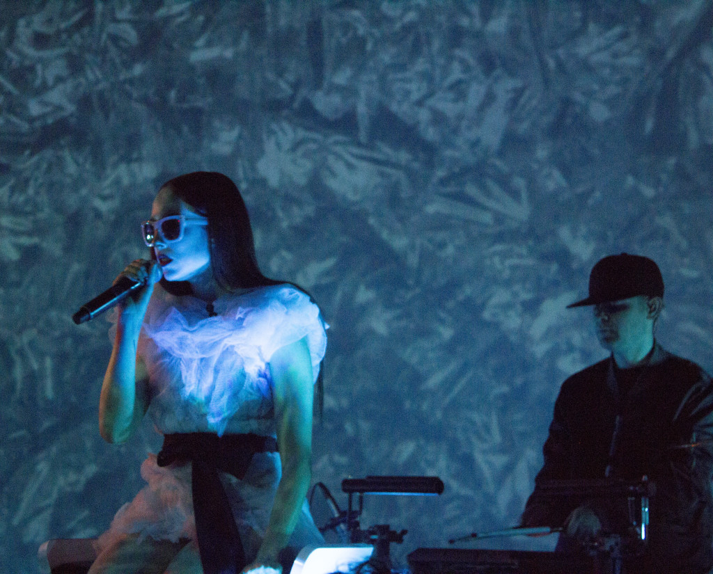 Allie X. Phi Centre. Photo Derrick Soares.