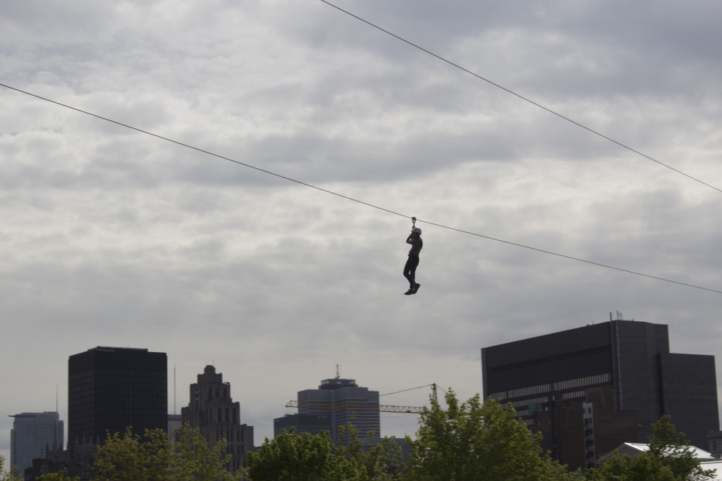 Zip Line. Old Port. Photo Derrick Soarres.