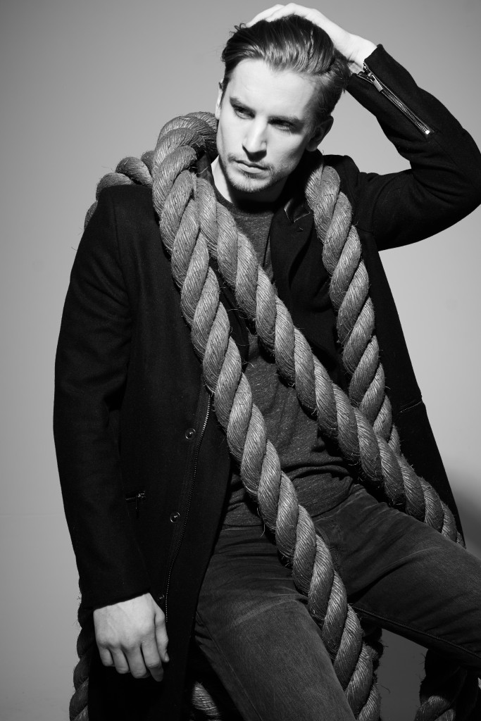 Rope For Men. MUA: Selena Vega. Model: Paxton. Photograph: Thibault Navarro.