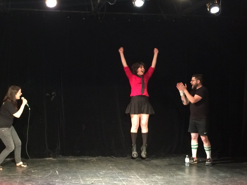 Provincial Air Guitar Championships 2015. Photo Julie Santini.
