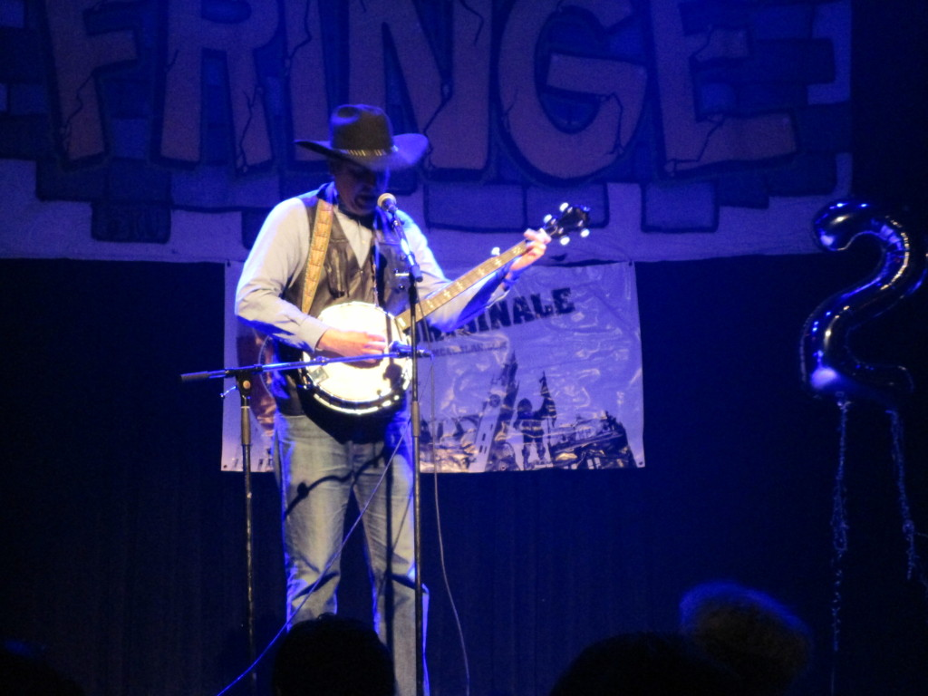 David Pryde. Fringe For All. Photo Rachel Levine