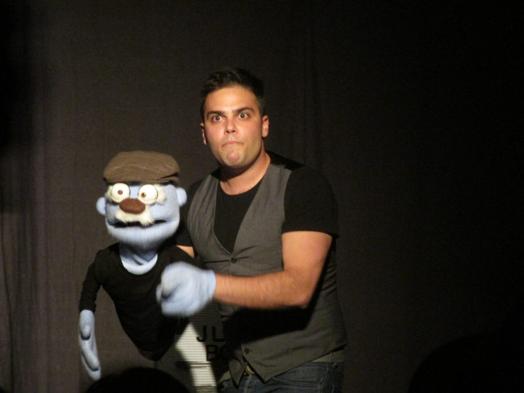 12 Angry Puppets. Montreal Fringe. Photo Rachel Levine