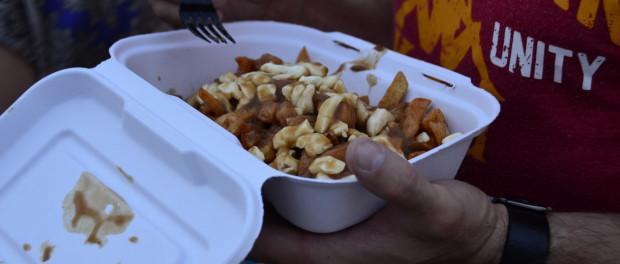 Poutine Fest. Old Port. Photo Alex Garancon.