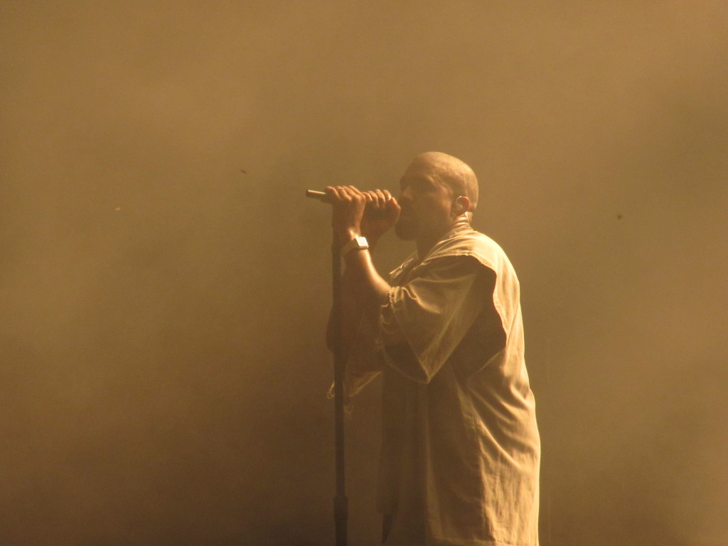 Kanye West  at Ottawa Bluesfest 2015. Photo by Robyn Homeniuk