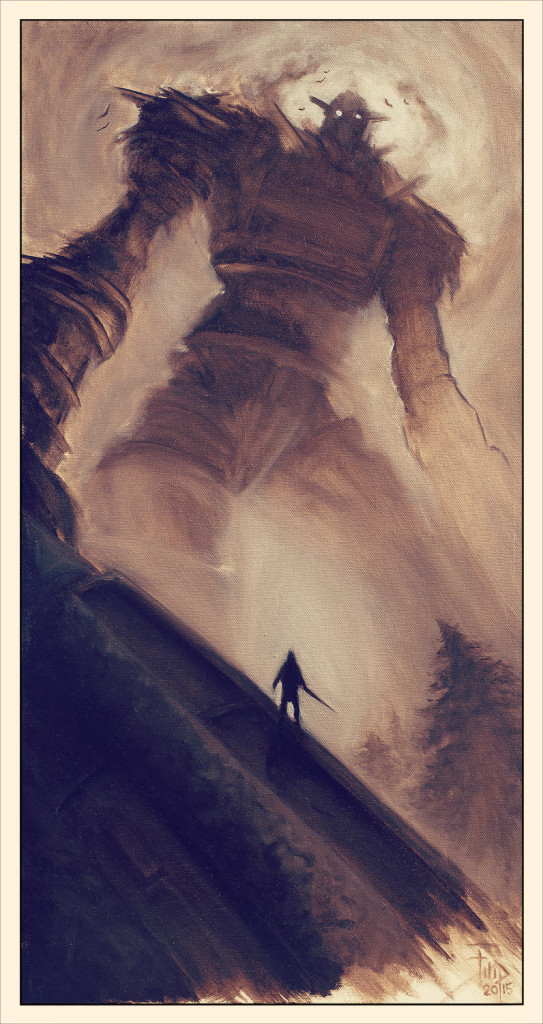 Shadow of the Colossus (artwork by Filip Ivanovic)