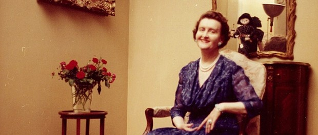 Huguette Clark in a private self-portrait, c. 1950s or 1960s. Photo credit: Estate of Huguette Clark/authors' website.