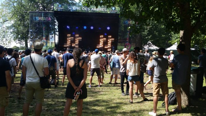 The OBGM's at the Trees Stingray stage. Osheaga 2015. Photo Bélinda Bélice.