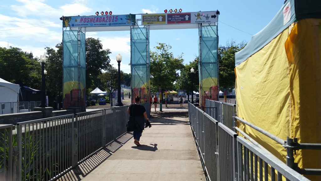 Osheaga. 11 a.m. Photo Belinda Belice.