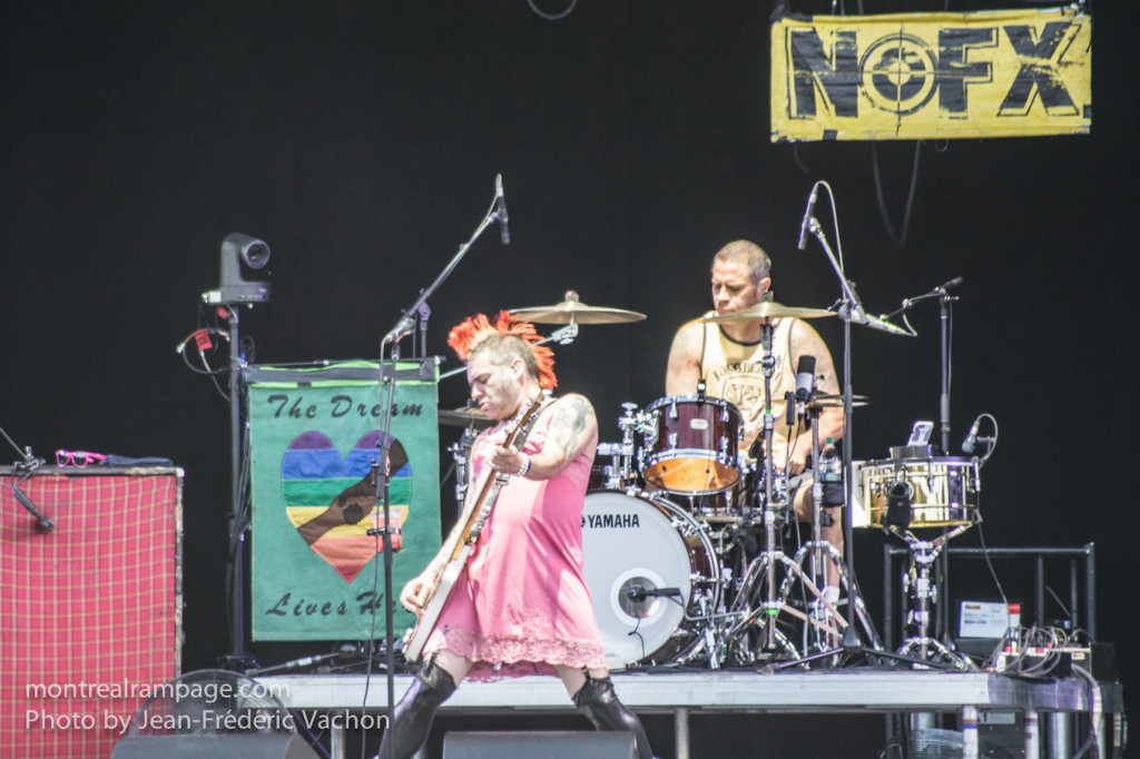 Heavy Montreal - NoFX - August 08, 2015. Photo Jean Frederic vachon