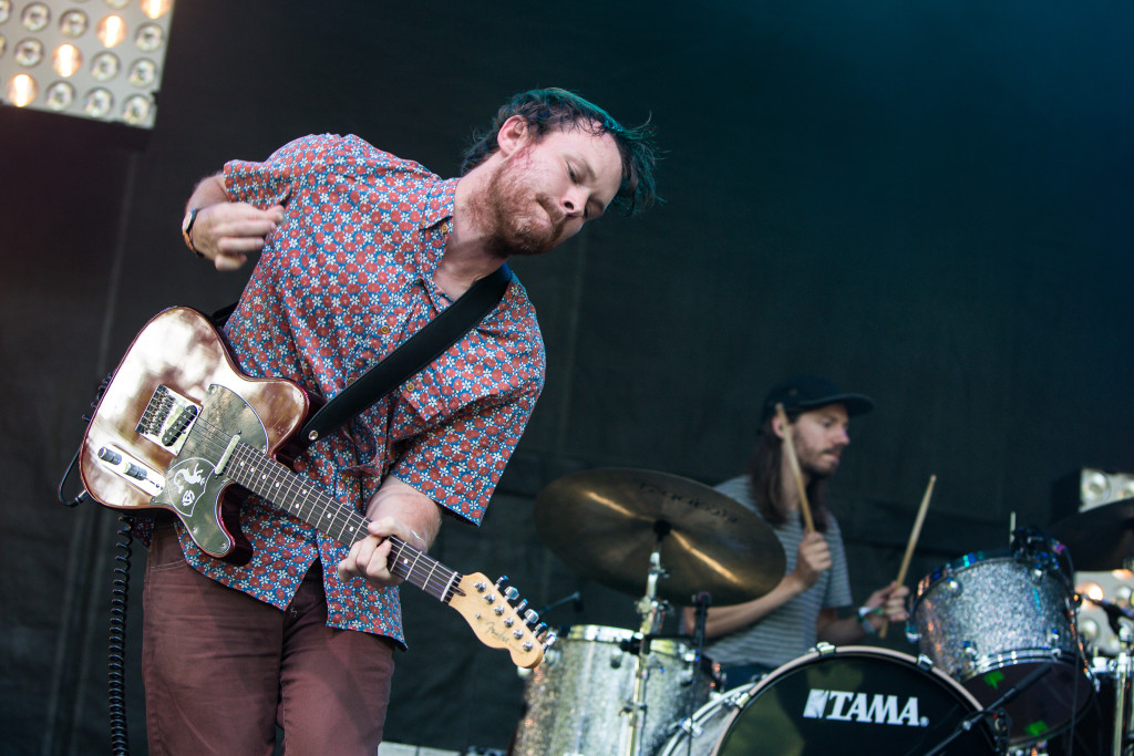 Toro Y Moi on stage at Osheaga Music and Arts Festival 2015. Photo Pierre Bourgault.