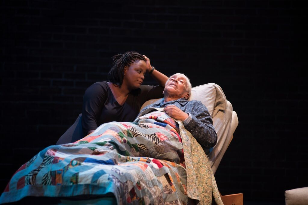 Lucinda Davis and Walter Borden. Adventures of a Black Girl in Search of God. Photo Andrée Lanthier