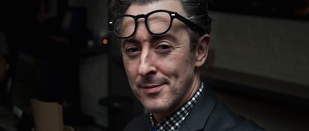 Alan Cumming, actor, activist, and second-time author. Photo credit: The Guardian.