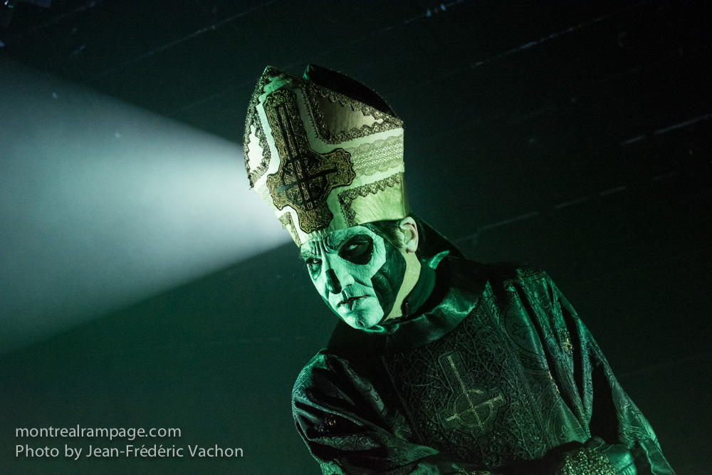 Ghost - Metropolis - September 30th 2015 (Photo by Jean-Frederic Vachon)