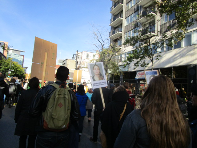 Posters. Missing and Murdered Aboriginal Women March and Vigil. Photo Rachel Levine